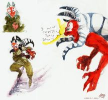 Say hello Tim by koosh-llama