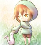 a boy and an animal by saTen0w0