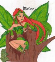 Illusen, The Earth Faerie by PhoenixFaerie1023