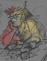 GRAVITY FALLS: No Rest WIP by hinataeyes22