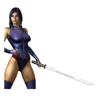 Deadpool Render - Psylocke by Corvasce1982