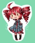 Vocaloid Teto Key chain by roseannepage