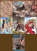 Classic Mythology Sketch Cards S5 by JesterretseJ