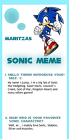 My first Sonic meme by Lynus-the-Porcupine