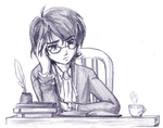 PT - Autor - Weary Research by amako-chan