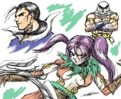 Tira, Robert and Olcadan by DaiKuwabara