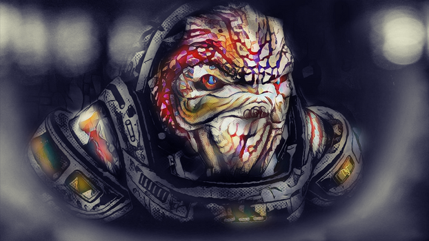 Grunt / Digital Art by DjTrecool