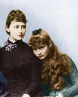Ella and Alix of Hesse by GrandDuchessIsabelle