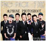 Han Geng - GengPhone Photoshoot - PNG Pack by KangHyoNeul