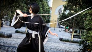 Rukia in Battle Cosplay by firecloak
