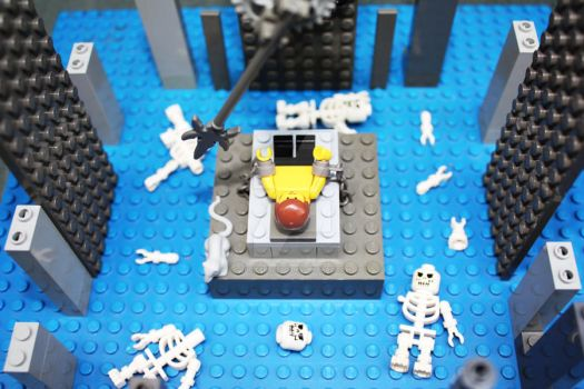 The Pit And The Pendulum Lego by LucifersLego