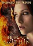 Book cover -The Flame Within by Emerald Rai Fleurs by CathleenTarawhiti