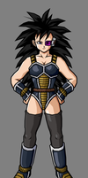 Niuri (Female Saiyan) by hsvhrt