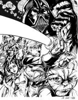 Star Wars by Inker-guy