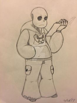 CounterTale: Sans by RTNightmare
