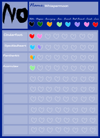 Whispermoon Heart Chart by hershey-chocolate