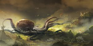 Forrest octopus by Magnusss