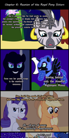 Past Sins: Reunion of the Royal Pony Sisters P3 by SaturnStar14