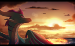 To the Sunset by Fourth-Star