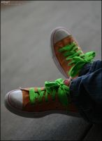 The Green Laces by Albrtd3