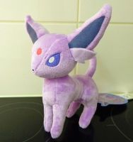 Espeon 2012 Pokemon Center plush by Gallade007