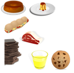PACK FOOD VECTOR PNG 15 by darkadathea