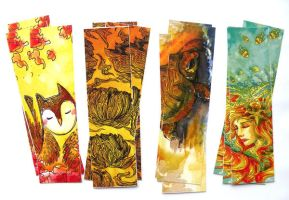 bookmarks by michellescribbles