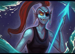 Undyne by Serpentwined