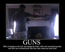 Guns -demotivation- by Dragunov-EX