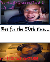 Pewdiepie Rage Comic by ElectronicCyborg