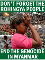End the Rohingya Genocide by Party9999999