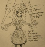 FNAF OC: Johnna Henricksson (BIO+REF) (+Changes) by Leaved