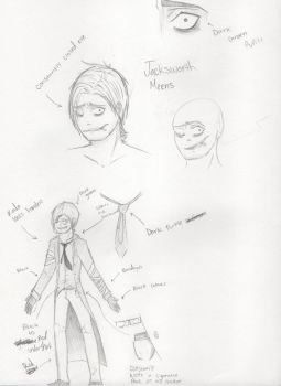 Jacksworth Meens: Concept Art [New OC] by MistytheRandomFreak