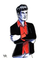 Daily Sketches Dylan Dog by fedde