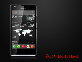 Zooper theme by qamu74