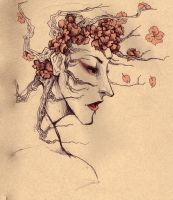 Cherry Tree Man by Android-Bones