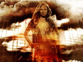 Lucy Lawless - On Fire by ATildeProduction