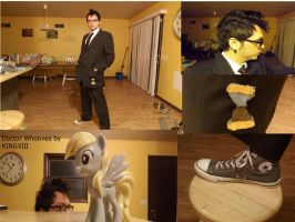 Doctor Whooves Cosplay Full Detail Collage by KINGXIII