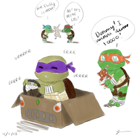 The Daily Life of a Turtle Tot by AnoSheakai