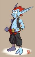 Madji the Troll Kid Monk by Dalehan
