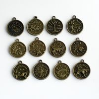 60 Zodiac Charms FOR SALE by MonsterBrandCrafts