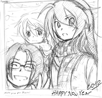 Happy New Year 2012 by Akemimi