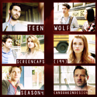 Teen Wolf 4x4 Screencaps Pack by CansuAkn