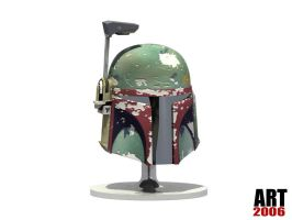 Boba Fett Helmet by ART-havoc