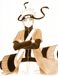 RL Commission 14: Naruto Uzumaki by KamiKaze-no-Ryuu