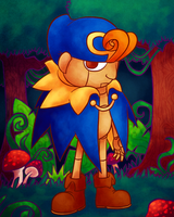 Geno in the Forest by Aviarei