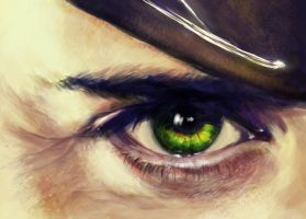 Eye of Loki by rflaum