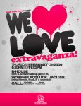 Flyer: We Heart Love by stuckwithpins