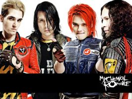 My Chemical Romance Wallpaper by HappyAsparagus