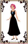 Clarisa Parr funeral outfit by ToaDJacara
